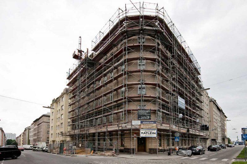 Fassadenrenovierung Baumeister Wien